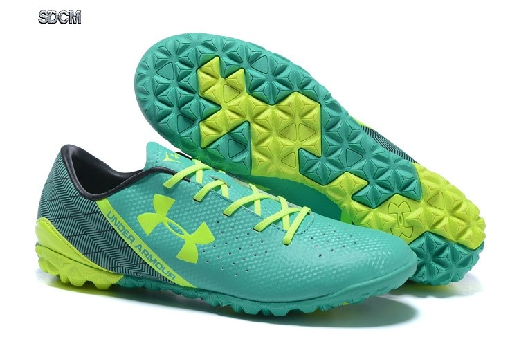 Under Armour Clutchfit Force TF Nero Verde Verde Fluorescente Migliori